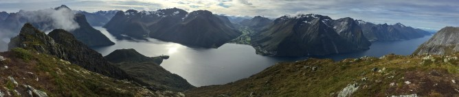 View from Saksa summit (Iphone)