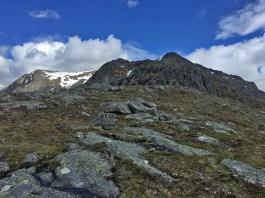 A steep cliff ahead