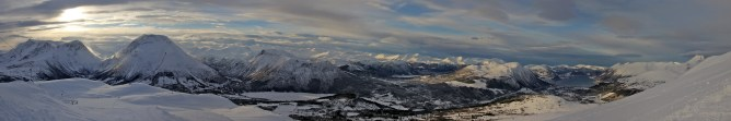 Panorama from above the 2nd lift