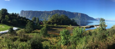 Lifjell seen from the cabin