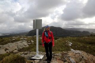 On top of Lammetufjellet