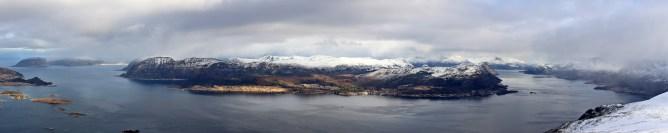Summit panorama (3/3)