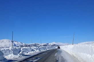 On Valdresflya. Road opened early this year!