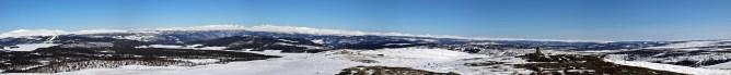 Valsfjellet panorama (2/2)