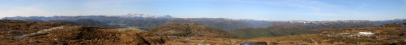 Flateheia view