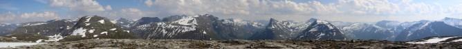 Hurklutefjellet view (1/2)
