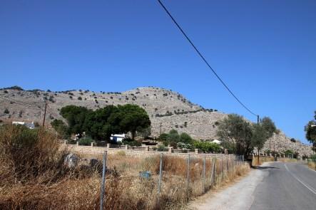 Towards Agios Ioannis