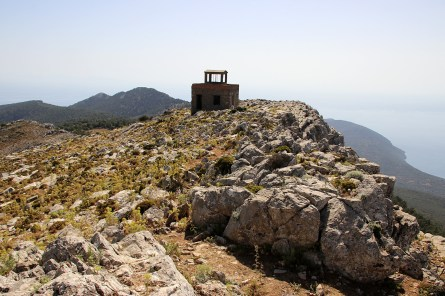 The fire lookout tower