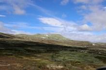 To Skjerdingen - view towards Store Hirisjøhøgda