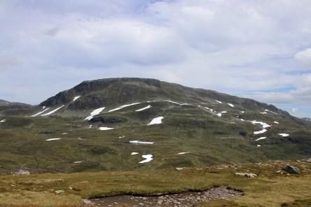 Blåfjellet, 1548m. 2nd highest top in Voss