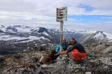 On top of Oppljosegga