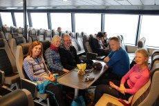 On the boat to Ålesund