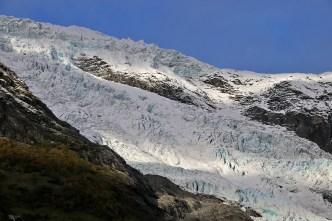 The glacier, detail