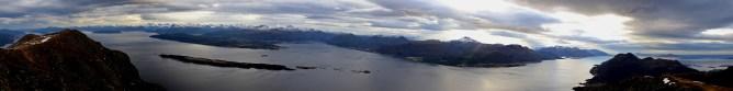 View from Oppstadhornet (1/2)