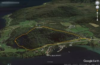 The route across Kleppeåsen