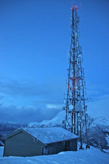 On top of Helgehornet