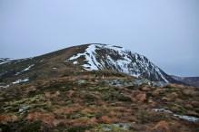 Up the ridge