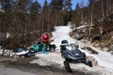 Back at the Seimsåsen road