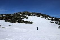 Leaving Magnusgrøfjellet