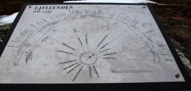 A circular viewfinder