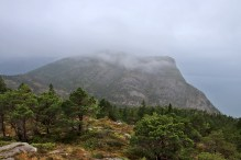 Looking back on Trælvikfjellet