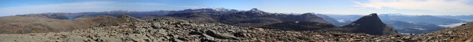Terdalskeipen panorama (2/2)