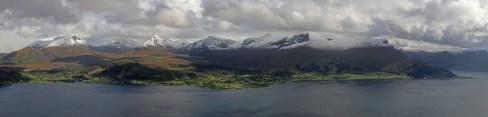 Rovdefjorden peaks