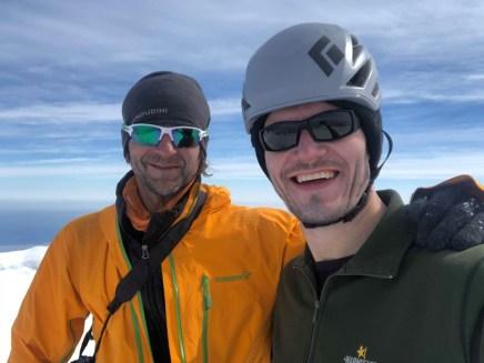 On top of Beerenberg