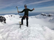 Jukka on the summit