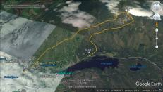 Our route across Enarsvola