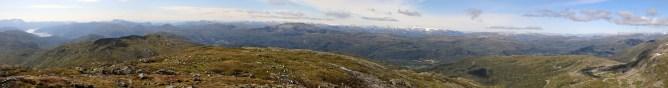 Blåfjellet panorama (1/4)