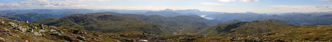 Blåfjellet panorama (3/4)