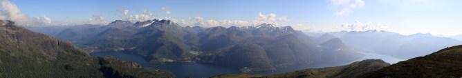 Austefjorden panorama