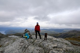 On top of Blåfjellet