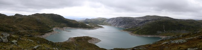 Blåfjellet and Fridalsvatnet