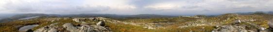 Skorvane panorama