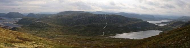 Our route to Sauskardegga