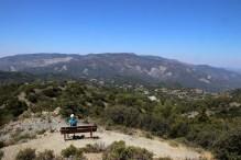 View towards Olympos