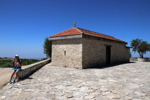 The Profitis Ilias chapel on Vouni