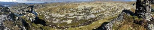 Iphone8 panorama (1/2) from Tindafjell