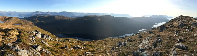 View towards Storetua