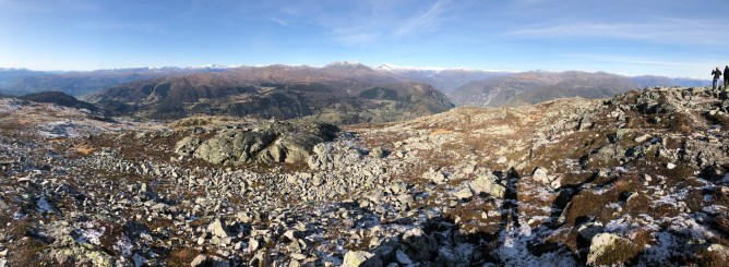 Iphone8 panorama from Molden (1/2)