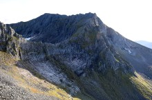 The ridge to Rametinden
