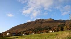 The Nivane mountain side