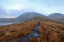 On the ridge to Melshornet