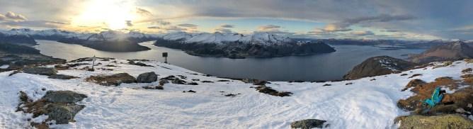 View across Voldsfjorden