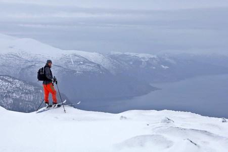 Me - on Lingsetfjellet