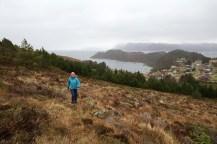 Up Sandedalen valley