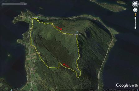 Our route across Lidaveten