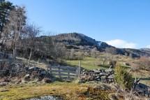 Skjeggen seen from Åberge